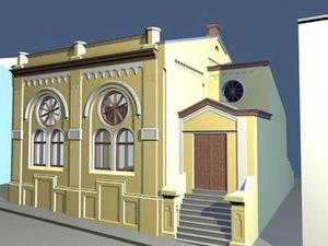 The Synagogue on Sadovskogo Street in Czernowitz