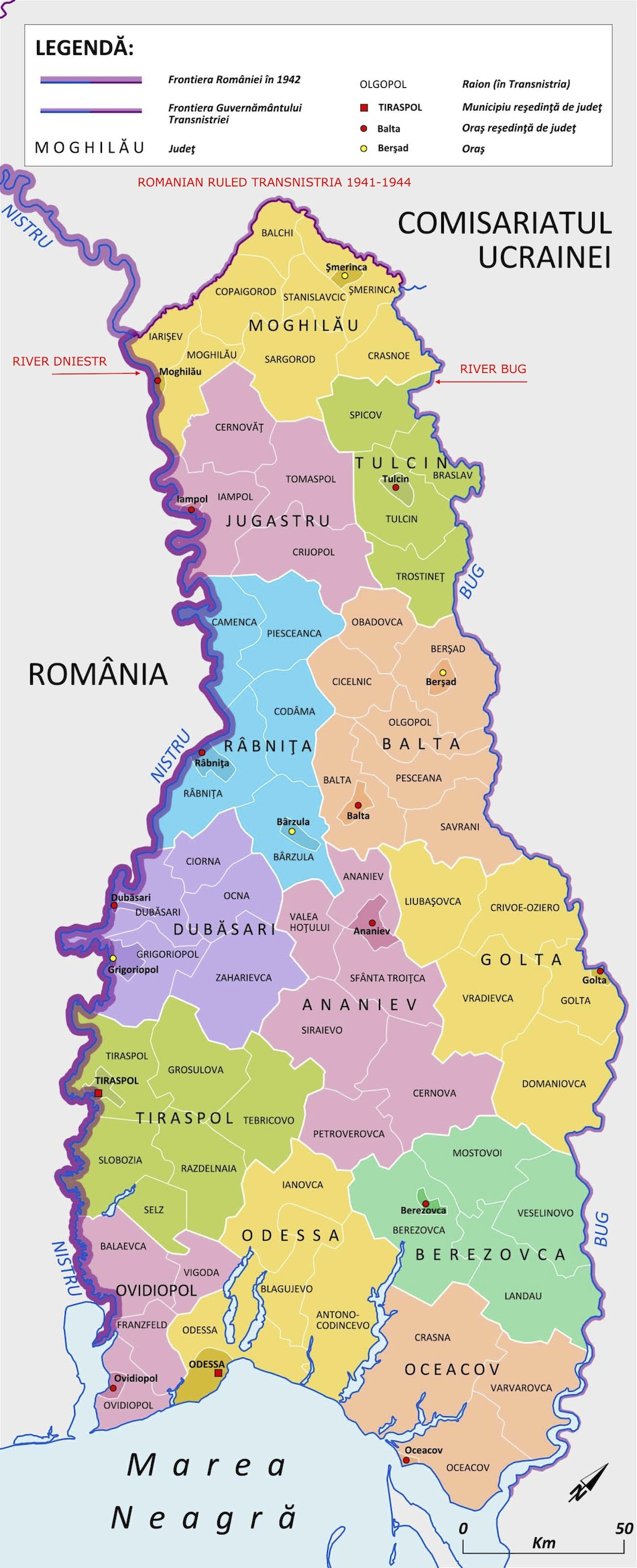 Maps The Ehpes Blog - Transnistria map