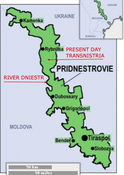 Maps of 2 territories named Transnistria1