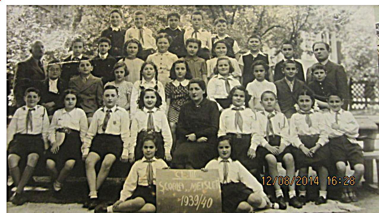 Czernowitz -Meisler School 1939-40 from Oren Saraf