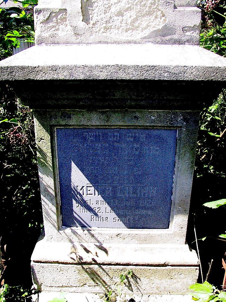 Meier lilian grave