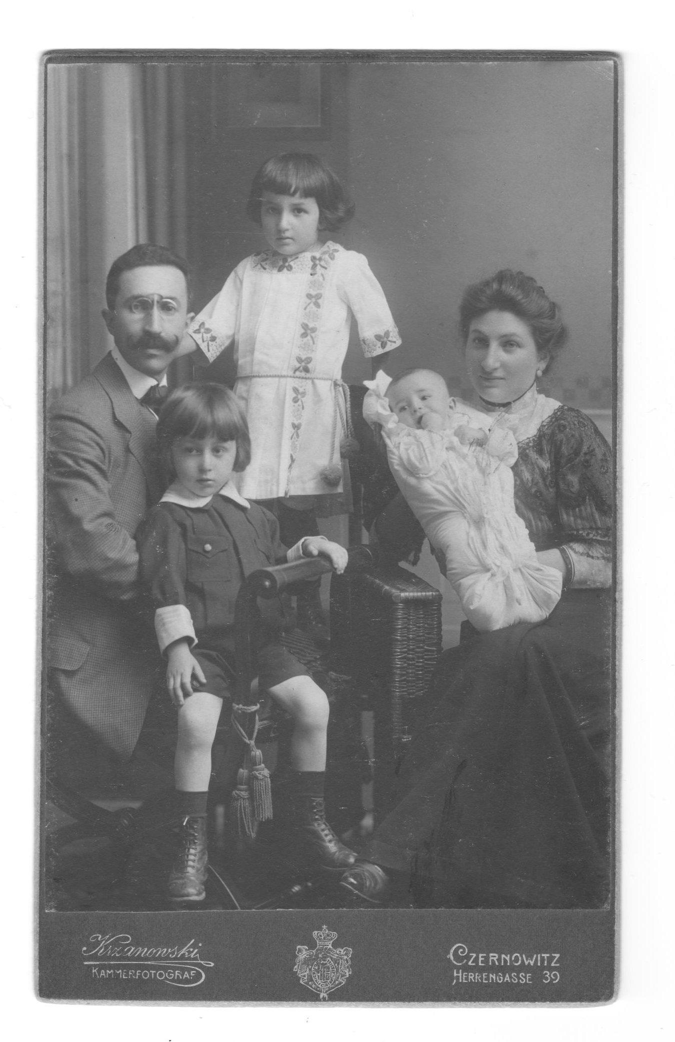 Isak, Ernestine, Alfred, Gisela & Rudolf HeilpernB