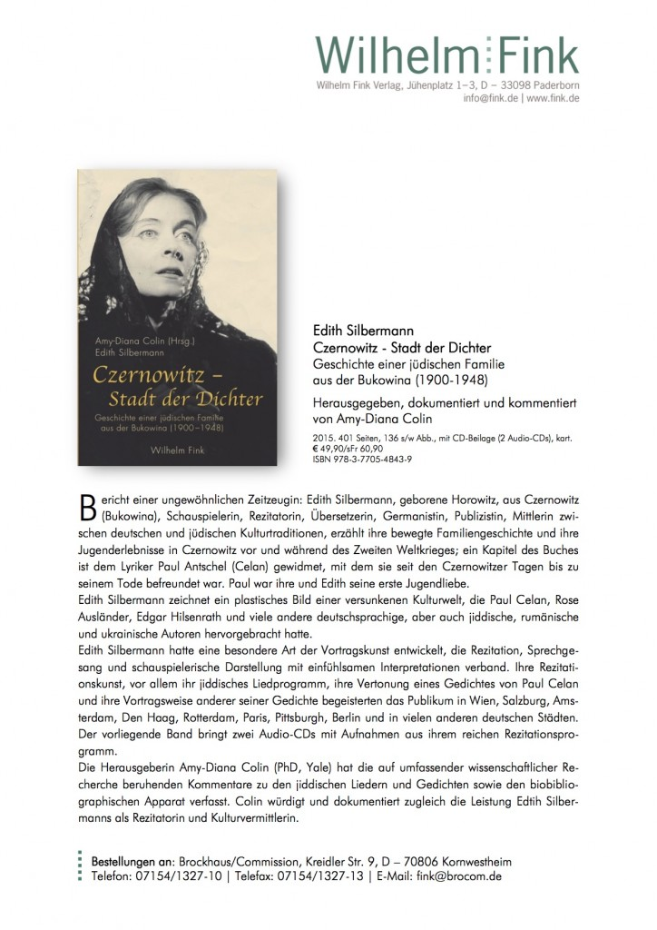 Info-Buch_Colin, Silbermann