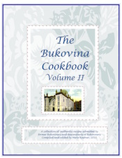 Bukovina Cookbook Volume II