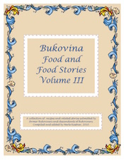 Bukovina Cookbook Volume III