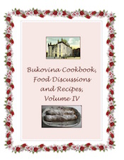 Bukovina Cookbook Volume IV